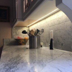 Under Counter Lighting in Kitchen